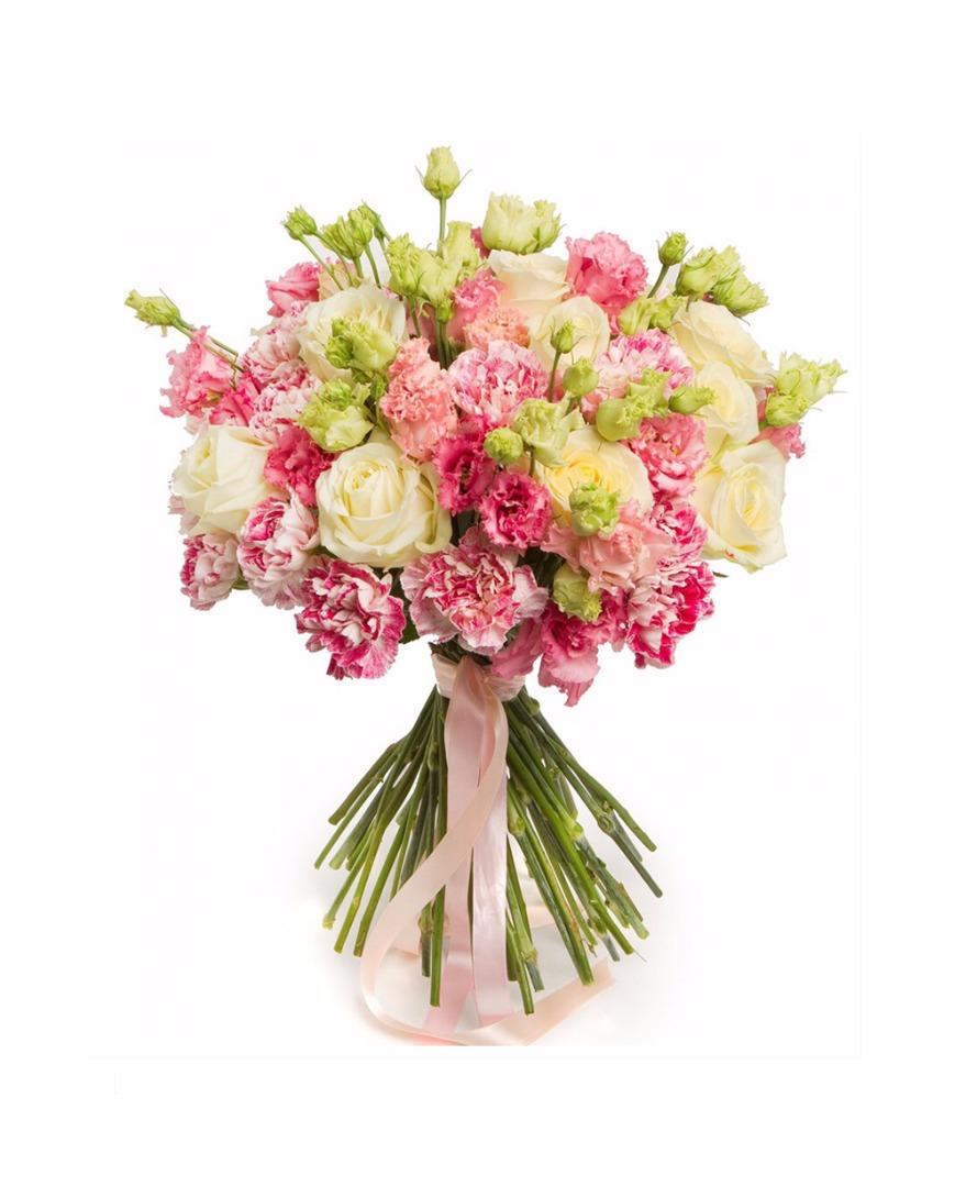 Цветы томске, гвоздики букет для девушки